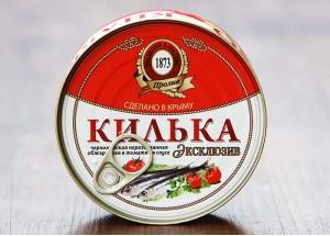 Килька черноморская неразделанная обжаренная в томатном соусе