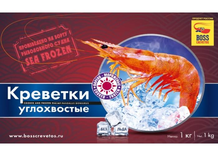 Креветка углохвостая Магадан 1кг